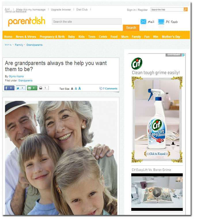 Dr Rachel Johnson Article on Parent Dish